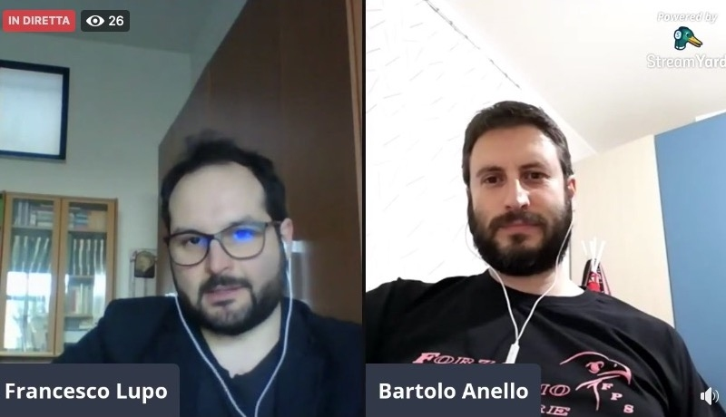 ForzaPalermo.it TALK - Con Bartolo Anello di FPS